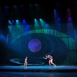 """A Midsummer Night's Dream,"" CMU 2010. Photo by Louis Stein."