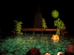 """ATY's """"Robin Hood,"""" July 2011. Director: Anthea Carns. Sets by Caleb Bourgeois. Lights by Erin Campbell."""