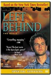 Movie poster for Left Behind. It's terrible.